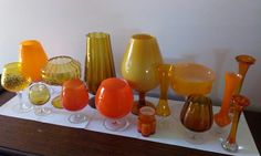 Red, art glass, cased glass, brandy balloon, My collection