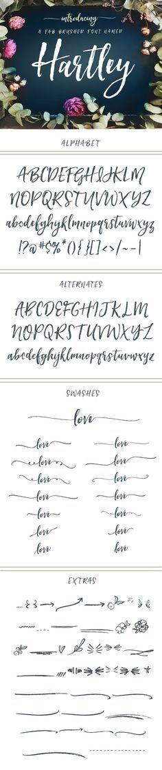 Hartley Font  by Ang