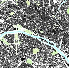 Figure Ground Plan of Paris – Drawn 2011 for the Climax City Project Paris in pattern. black and white marble Plan Ville, Urban Mapping, Architecture Drawings, Architecture Diagrams, Building Architecture, Landscape Architecture, Landscape Design, Urban Design Plan, City Pages