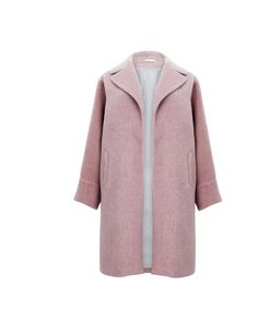 Wrap up this winter in Marks & Spencer's pink wool coat     http://www.elleuk.com/fashion/in-store-now/in-store-now-22nd-october-2012#image=5