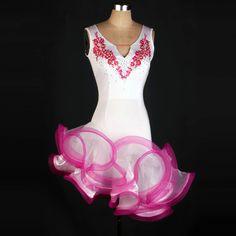 2016 рукавов латинской танцы платье высококачественные латинской платье lateinkleid vestidos де бейл латино пункт mujer купить на AliExpress