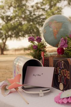 """""""Up"""" themed wedding!! so cute!! I have to pin this even though it won't happen.  So adorable :-)"""