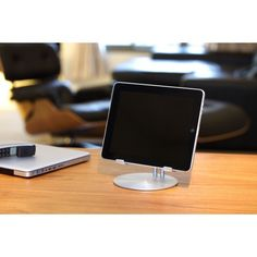 Sleek and sturdy iPad® stand.