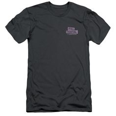 Full Frontal with Samantha Bee TV Logo Adult Charcoal T-Shirt
