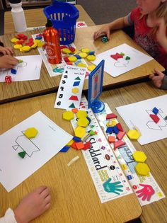 Math Game for Learning Shapes and their Attributes-  FREEBIE!
