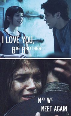 Bellamy and Octavia Blake. #the100
