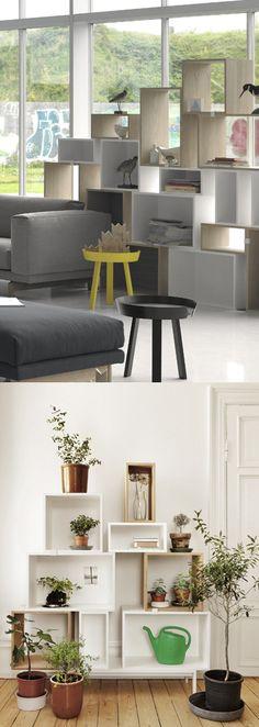 北欧デザイン muuto STACKED - Shelf System:ムート スタックト シェルフシステム - 北欧・日本のインテリアショップ ROUND ROBIN | ラウンドロビン