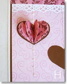 Como hacer tarjetas en 3D para San Valentin