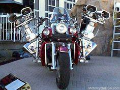 Forged Crank Boss Hoss Blower Bike - Motorcycle USA