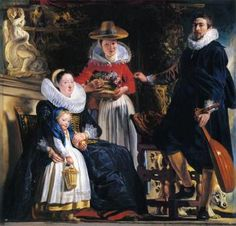 The Family of the Artist Artwork by Jacob Jordaens