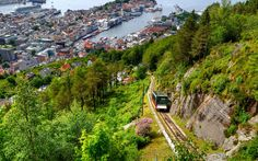 Bergen Railway, Norway  The seven-hour train crosses the high mountain range between Oslo and Bergen, then runs across the Hardangervidda mountain plateau, Later it descends through lush valleys to Bergen.  Insider Tip: Preorder the tapas menu of trout, salmon, flatbread, cured reindeer meat, reindeer paté, game, and mountain cranberries. For plenty of daylight hours, travel in the summer.