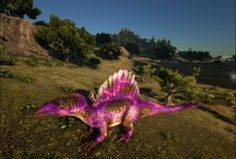 Rainbow spino ark pinterest spinosaurus spino camo roxo spinosaurusark malvernweather Images