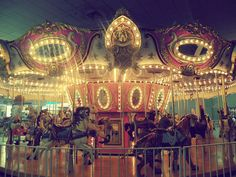 carousel, fun, merry go round Vintage Theme, Vintage Circus, Vintage Style, My Dream Car, Dream Cars, Carrousel, Fun Fair, Merry Go Round, Carousel Horses