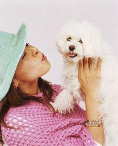 Maltese dogs are small and white, so tear staining, the residue left by water running from the eyes, is especially noticeable.