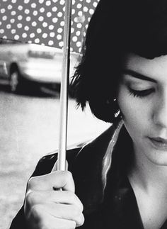 Amelie. A woderfull and inspirational carracter! Watching the movie just makes me happy and to be a better person.