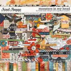 Monsters in My Head by Studio Basic and Sugarplum Paperie, Sweet Shoppe Designs