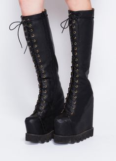 Jeffrey Campbell Zidler Hi in Black at Solestruc .  These are beautiful,  but I know one little rock,  and coming  down .