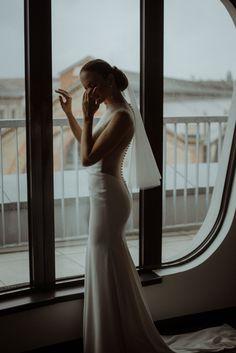 Különleges indusztriális esküvői trend - Nóri és Berci