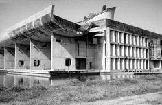Built by Le Corbusier in Chandigarh, India with date 1963. Images by Nicholas Iyadurai. One of Le Corbusier's most prominent buildings from India, the Palace of the Assembly in Chandigarh boasts his major ...