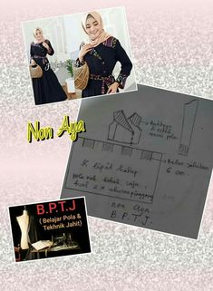 Long Dress Patterns, Muslim Dress, Kebaya, Sewing Clothes, Hijab Fashion, Event Ticket, Sewing Projects, Sewing Patterns, Lips