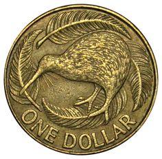 New Zealand 1 Dollar coin 1990 KM#78 Kiwi bird (A1) | eBay