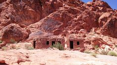 CCC Cabins, Valley of Fire State Park, Nevada