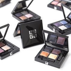 Luxe up your vanity with these new eye shadow shades by Givenchy. The shades range from matte to mirror shine.