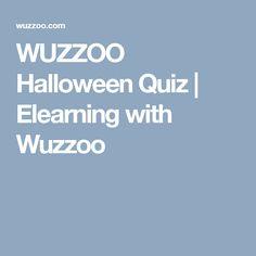 WUZZOO Halloween Quiz | Elearning with Wuzzoo