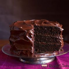 The best decadent chocolate cake for your cravings! This Chocolate Craving Cake has the richest flavor without a lot of fuss. This is the perfect comfort food! Save this chocolate cake recipe for later! Amazing Chocolate Cake Recipe, Best Chocolate Cake, Chocolate Desserts, Chocolate Frosting, Chocolate Heaven, Chocolate Chocolate, Decadent Chocolate, Chocolate Layer Cakes, Old Fashioned Chocolate Cake