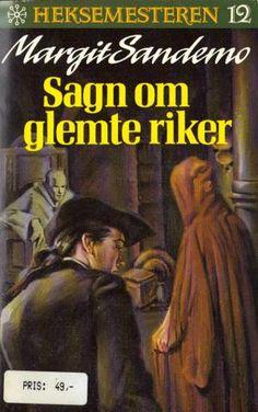 """Sagn om glemte riker"" av Margit Sandemo Fantasy Romance, Occult, Nostalgia, Reading, Books, Movies, Movie Posters, Libros, Films"