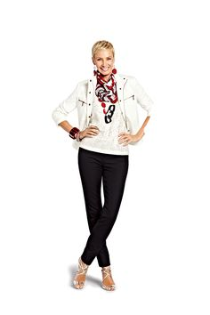 Look slimmer instantly in So Slimming™ Pants #chicos Own this look...fabulous!!!!