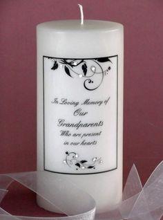 Elegant Leaf Swarovski Crystal Memorial Candle  http://www.weddingsarefun.com/elegant-leaf-swarovski-crystal-memorial-candle.html