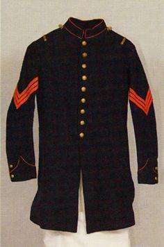 Marine Corps NCO frock coat (1861)