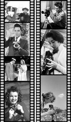 Estrellas de Hollywood y cámaras vintage | Decoración de interiores