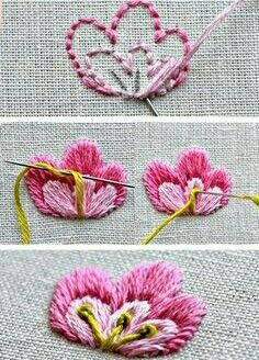 Embroidery Designs Hearts either Embroidery Supplies per Embroidery Patterns Pes beneath Glass Embroidery Near Me concerning Embroidery Thread Keeps Shredding Ribbon Embroidery Tutorial, Embroidery Hoop Crafts, Embroidery Supplies, Hand Embroidery Stitches, Silk Ribbon Embroidery, Hand Embroidery Designs, Embroidery Kits, Swedish Embroidery, Embroidery For Beginners