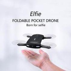 6-Axis Gyro WIFI FPV Mini Drone RC Quadcopter with HD Camera Foldable G-sensor