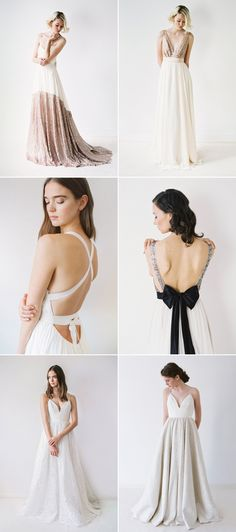 28 Modern Wedding Dresses For Minimalist Brides and Intimate Weddings! Truvelle