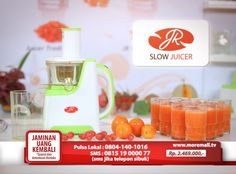 JR Slow Juicer- For your Healthy Juice