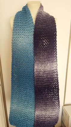 Extra Long Scarf Chunky Knit Scarf by BiziKnitting4You on Etsy