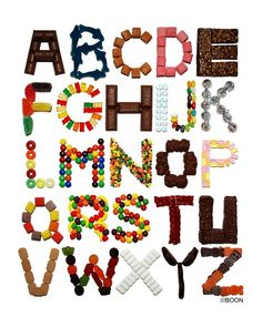 Candy Alphabet