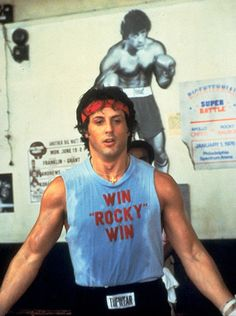 """Win Rocky Win"" (in Rocky II)"