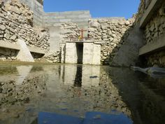 ST PIRAN'S ORATORY (07 April 2017) | Cornwall: 'Water level is 25 cm as has been the case since January' (pic. + text Colin Retallick)     ✫ღ⊰n