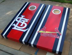 Hey, I found this really awesome Etsy listing at http://www.etsy.com/listing/160500369/st-louis-cardinals-cornhole-set