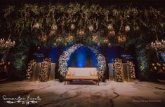 Picture from Samaritan Events Photo Gallery on WedMeGood. Browse more such photos & get inspiration for your wedding Wedding Reception Backdrop, Wedding Entrance, Wedding Mandap, Wedding Backdrops, Reception Ideas, Plan Your Wedding, Wedding Blog, Wedding Planner, Wedding Ideas