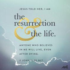#VOTD #Bible #Resurrected #Believe