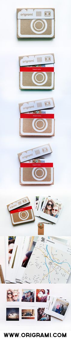 Origrami mini album #packaging PD