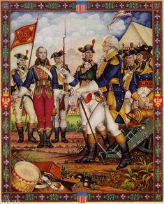 Historia Polski w malarstwie: Dwadzieścia obrazów z chlubnych Dni Braterstwa Polsko-Amerykańskiego Arthura Szyka (I)