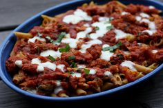 baked ziti by Elly Says Opa, via Flickr (can make a-head)