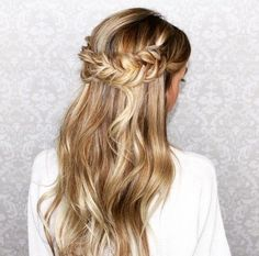 half-up do + braid | Styled by K A S E Y