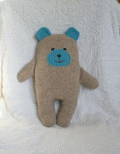 Instant Download Wooly Bear Upcycled Wool by littlebirdlanellc